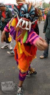 Foto karnaval budaya HUT ke-251 Kota Yogyakarta di tahun 2007