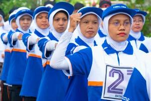 Thumbnail artikel blog berjudul Lomba Gerak Jalan Indah UGM