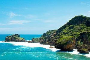 Thumbnail artikel blog berjudul Main ke Pantai Siung