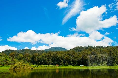 Pemandangan Situ Patengan, Ciwidey, Bandung Selatan di zaman dulu tahun 2008