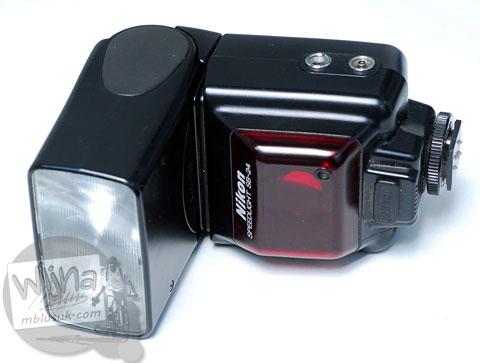 Review dan harga bekas flash eksternal lawas Nikon SB-24