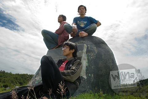 Foto wisatawan di Waduk Sermo Kulon Progo di tahun 2007 saat masih sepi