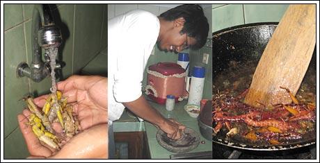 Langkah-langkah memasak belalang goreng renyah tidak bau
