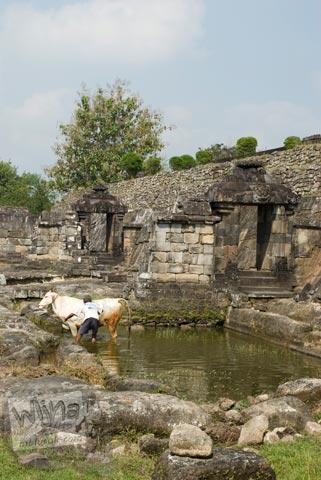 Foto Keputren di Keraton Ratu Boko, Prambanan pada Oktober 2008