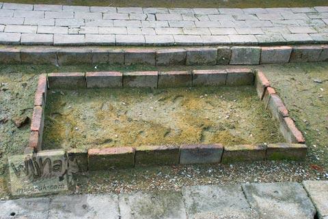 Foto situs penemuan kerangka di situs Batujaya, Karawang, Jawa Barat pada tahun 2009