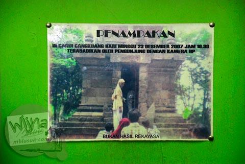 Foto Penampakan hantu mistis di Candi Cangkuang di Garut, Jawa Barat tahun 2009