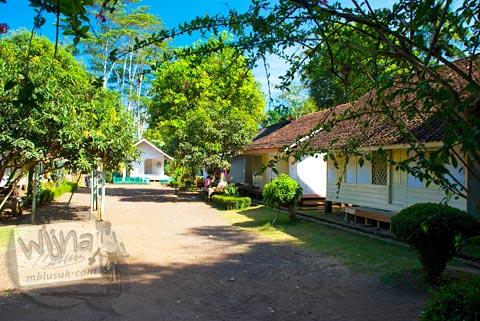 Pemukiman adat Kampung Pulo di kawasan Situ Cangkuang di Garut, Jawa Barat tahun 2009