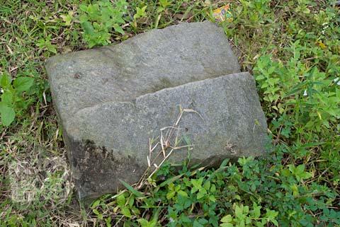 Foto Batu Andesit di Candi Mantup, Banguntapan, Bantul pada Februari 2009