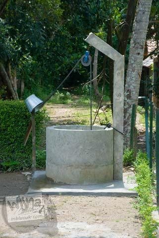 Foto Sumur di Situs Payak, Srimulyo, Piyungan, Bantul pada Februari 2009