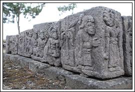 Foto Relief Suddhamala di Candi Cetho