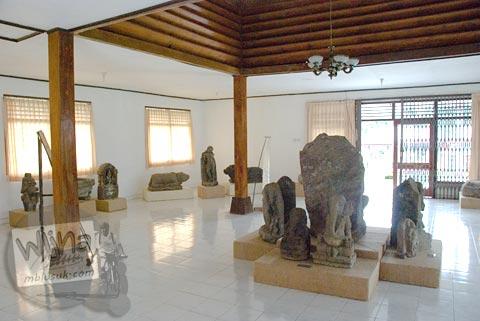 Foto Ruang Pertama di Museum Dieng Kailasa, Banjarnegara tahun 2008