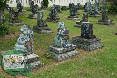 Foto Daftar Temuan Purbakala di sekitar Candi Prambanan pada 2009