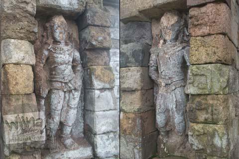 Foto arca nandiswara di Candi Gedong 3 di Candi Gedong Songo, Ambarawa Semarang, Jawa Tengah di tahun 2009
