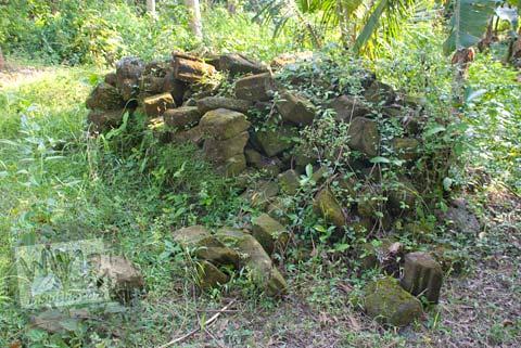 Foto batuan purba di dekat Candi Gembirowati, Purwosari, Gunungkidul tahun 2009