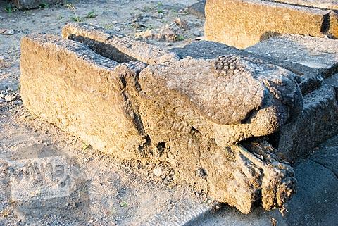jalawadra unik dan seram di situs Candi Gana, Bugisan, Prambanan di tahun 2008