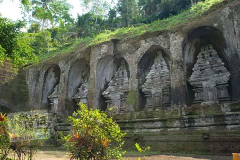 Foto Berugak Candi Gunung Kawi, Gianyar, Bali tahun 2009