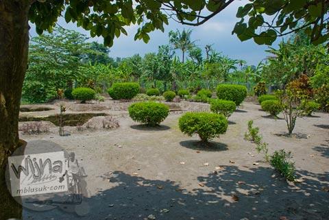 Foto area situs Candi Kadisoka, Purwomartani, Kalasan, Sleman, Yogyakarta di tahun 2009