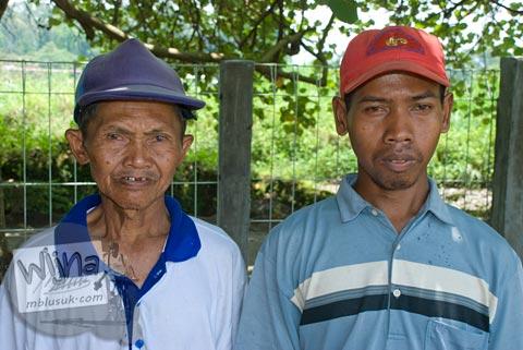 Foto Pak Pardal Juru Pelihara Candi Kadisoka, Purwomartani, Kalasan, Sleman, Yogyakarta di tahun 2009