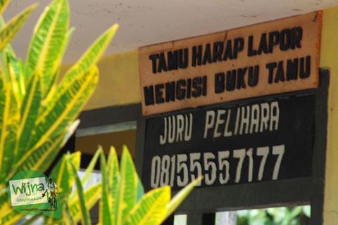 Tata-tertib berwisata di candi yang ada di Candi Sumberawan di Toyomarto, Singosari, Malang, Jawa Timur