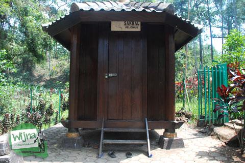 Bangunan mistis yang ada di kawasan Candi Sumberawan di Toyomarto, Singosari, Malang, Jawa Timur