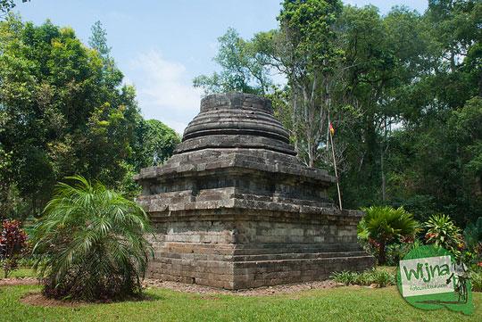 Wujud zaman dulu Candi Sumberawan di Toyomarto, Singosari, Malang, Jawa Timur
