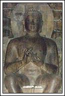 foto arca buddha vairocanna di candi mendut