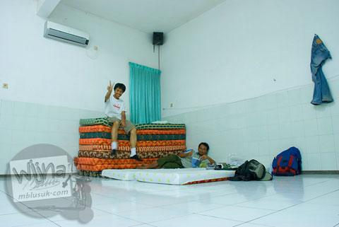 Menginap gratis di Maha Vihara Majapahit bersama para biksu di Trowulan, Mojokerto, Jawa Timur