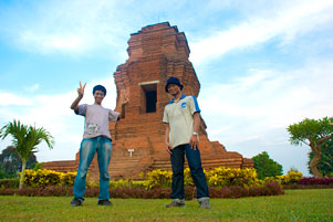 Thumbnail artikel blog berjudul Backpacking Jelajah Trowulan