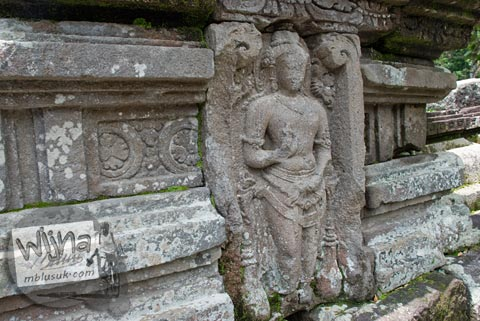 Foto arca Siwa di Candi Morangan, Sindumartani, Ngemplak, Yogyakarta di tahun 2009