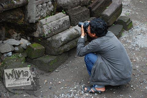 Foto kegiatan dokumentasi Candi Morangan, Sindumartani, Ngemplak, Yogyakarta di tahun 2009