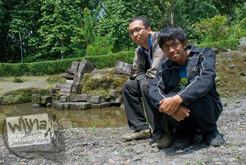 Foto Eka Krisna Santoso di Candi Morangan, Sindumartani, Ngemplak, Yogyakarta di tahun 2009