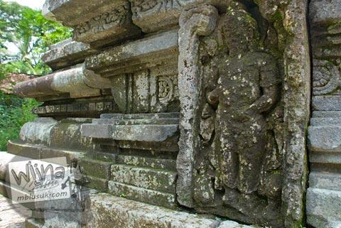 Foto relief Agastya di Candi Morangan, Sindumartani, Ngemplak, Yogyakarta di tahun 2009