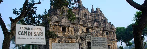 Foto Candi Sari, Biara Tempat Tinggal Pendeta Zaman Lampau di tahun 2008