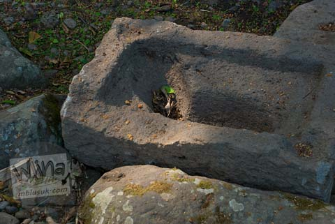 Foto lumpang Situs Sendang Pitu, Cepogo, Boyolali, Jawa Tengah pada Oktober 2009