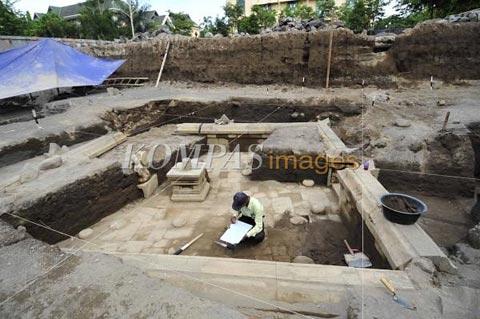 Foto terakhir Situs Kimpulan yang kuperoleh dari website Kompas.