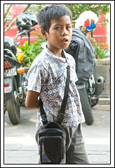 Profesi anak sebagai pengamen di kota Yogyakarta
