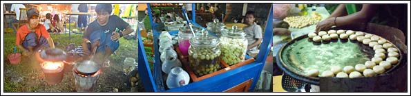 Foto Kerak Telor, Wedang Ronde, dan Bakpia di Festival Kuliner