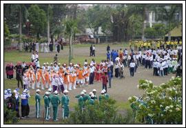 Foto Gerak Jalan Indah UGM tahun 2008