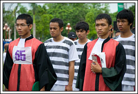 Contoh yel-yel Gerak Jalan Indah UGM tahun 2008