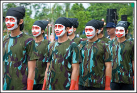 Foto Kostum Gerak Jalan Indah UGM tahun 2008