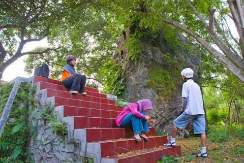 Gunung Gamping di Ambarketawang