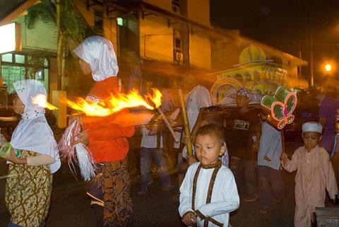 Pawai Takbiran Yogyakarta tahun 2009
