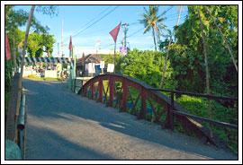 Struktur Jembatan Merah Gejayan Yogyakarta tahun 2009