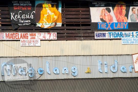 Film Porno Bioskop Tidar di Alun-Alun kota Magelang di bulan Juni 2008