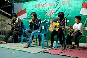 Thumbnail untuk artikel blog berjudul Cerita KKN: Band-Band Lokal