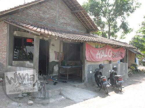 Pondokan Mahasiswa KKN UGM Kebondalem Kidul, Prambanan di Rumah Pak Pardiman