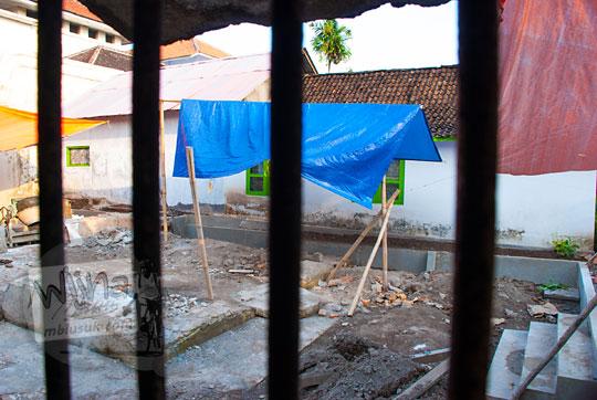 foto pemugaran gedhong garjitawati situs taman sari pada zaman dulu tahun 2008