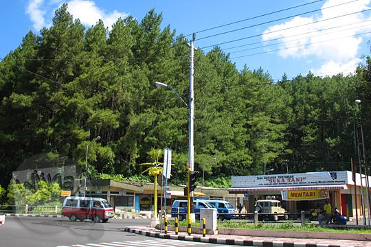 hutan bukit tidar kota magelang zaman dulu tahun 2006