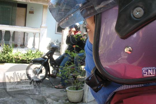 helm sepeda motor joko alfandy alhuda