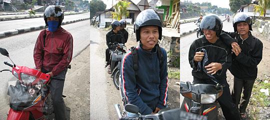 perjalanan naik sepeda motor dari yogyakarta ke temanggung